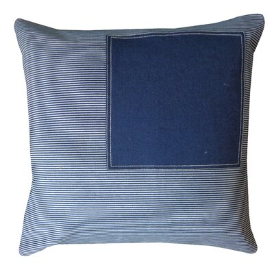 Window Staight Cotton Throw Pillow