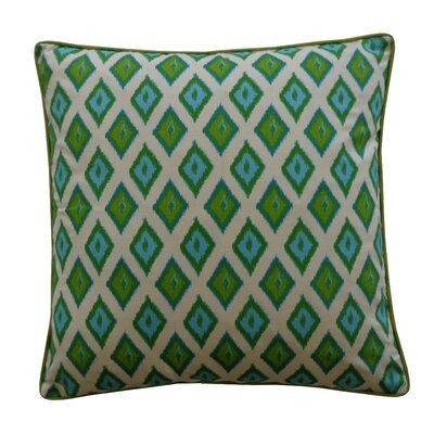 Kite Cotton Throw Pillow Color: Green