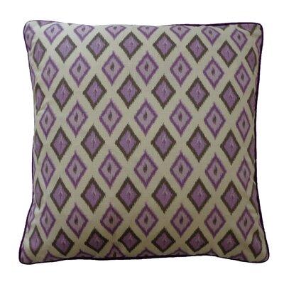 Kite Cotton Throw Pillow Color: Purple