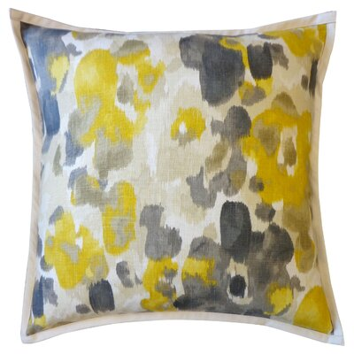 Watercolor Cotton Throw Pillow