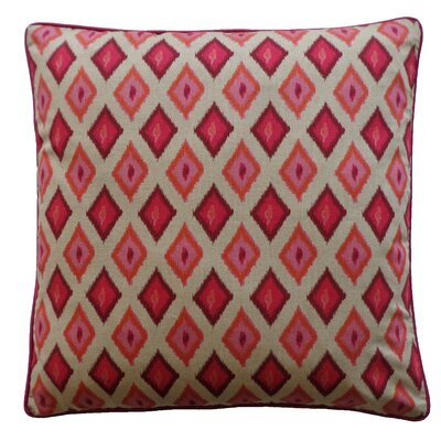 Kite Cotton Throw Pillow Color: Red