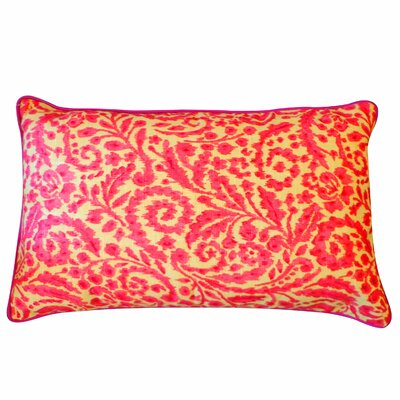 Amigo Lumbar Pillow Color: Pink