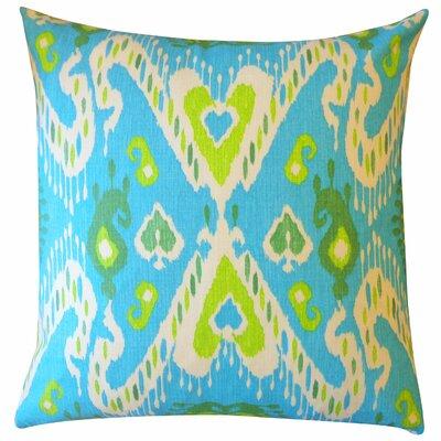 Coriander Cotton Throw Pillow Color: Rust