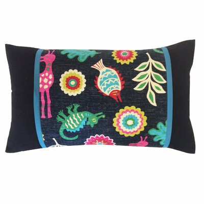 Noah Piece Cotton Lumbar Pillow
