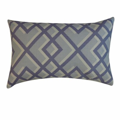 Flex Cotton Lumbar Pillow Color: Blue