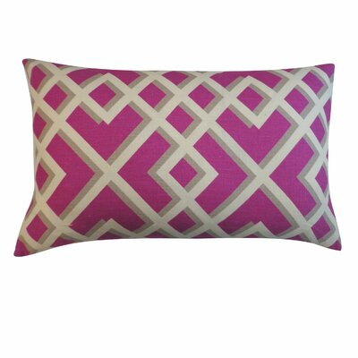 Flex Cotton Lumbar Pillow Color: Purple