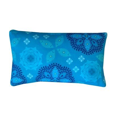 Flicker Cotton Lumbar Pillow Color: Esm