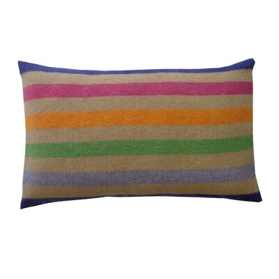 Rainbow Delight Cotton Lumbar Pillow