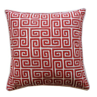 Coil Cotton Throw Pillow