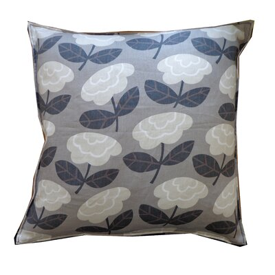 Flower Cotton Throw Pillow