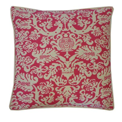 Castle Cotton Throw Pillow