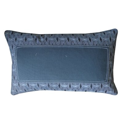Window Straight Cotton Lumbar Pillow