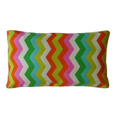 Sioux Indoor/Outdoor Lumbar Pillow Color: Pink/Multi