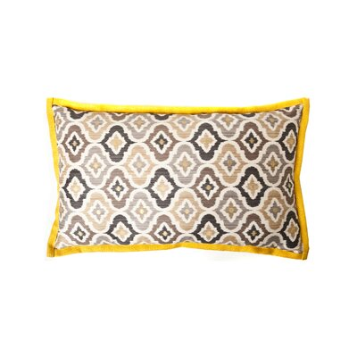 Mineral Cotton Lumbar Pillow Color: Taupe