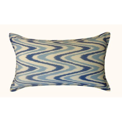 Electricity Outdoor Lumbar Pillow Color: Blue