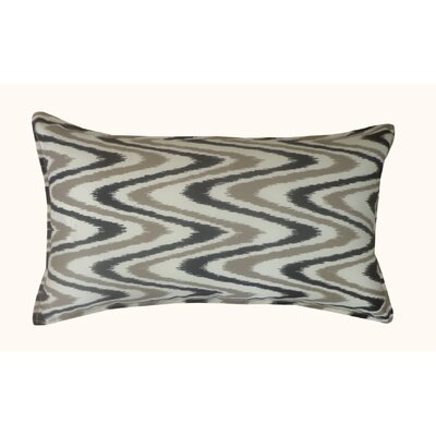 Electricity Outdoor Lumbar Pillow Color: Gray
