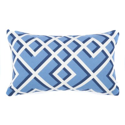 Geometric Outdoor Lumbar Pillow