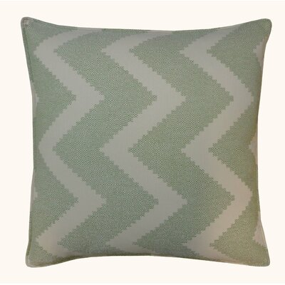 Julia Outdoor Throw Pillow Color: Green