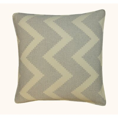 Julia Outdoor Throw Pillow Color: Gray