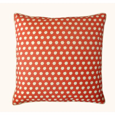 Lanyard Outdoor Throw Pillow Color: Red