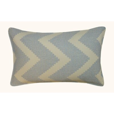 Julia Outdoor Lumbar Pillow Color: Blue