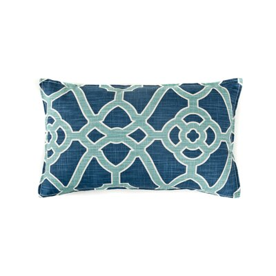 Celtic Cotton Lumba Pillow Color: Blue