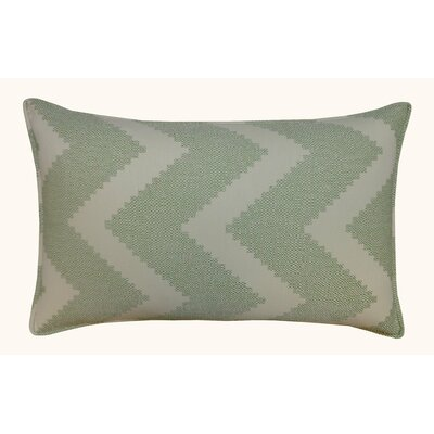 Julia Outdoor Lumbar Pillow Color: Green