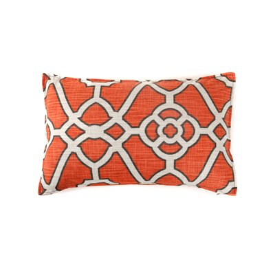Celtic Cotton Lumba Pillow Color: Orange