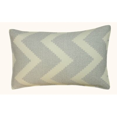 Julia Outdoor Lumbar Pillow Color: Gray