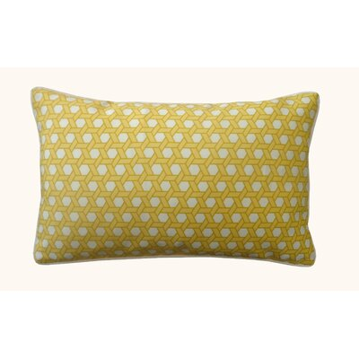 Lanyard Outdoor Lumbar Pillow Color: Yellow
