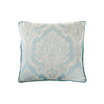 Ghost Cotton Throw Pillow Color: Blue