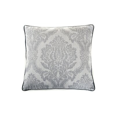 Ghost Cotton Throw Pillow Color: Gray