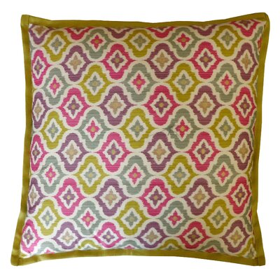 Mineral Cotton Throw Pillow Color: Multi