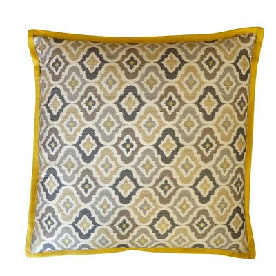 Mineral Cotton Throw Pillow Color: Taupe