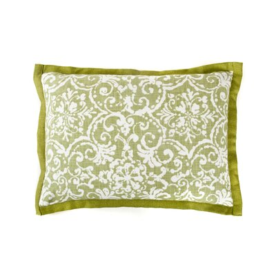 Primative Cotton Throw Pillow Color: Green