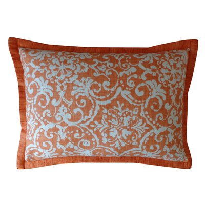 Primative Cotton Throw Pillow Color: Orange