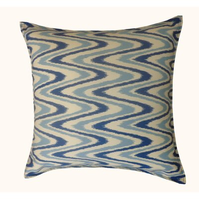 Electricity Outdoor Throw Pillow Color: Blue