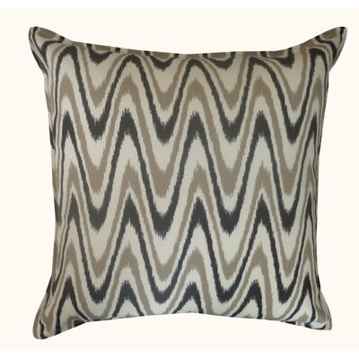 Electricity Outdoor Throw Pillow Color: Gray