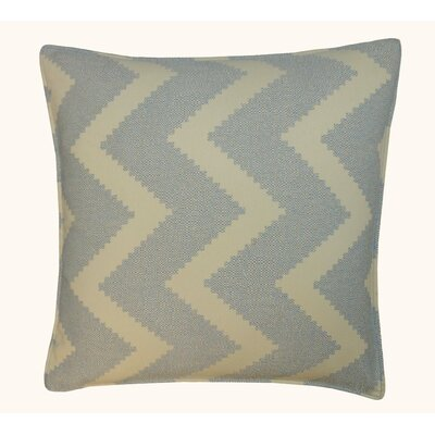 Julia Outdoor Throw Pillow Color: Blue