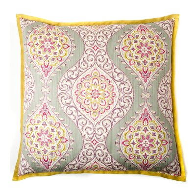 Lunar Cotton Throw Pillow Color: Pink