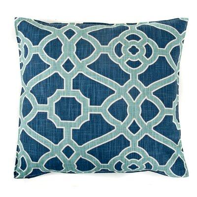 Celtic Cotton Throw Pillow Color: Blue