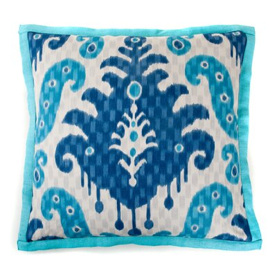 Spirit Cotton Throw Pillow Color: Blue