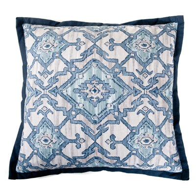 Pharoah Cotton Throw Pillow Color: Blue