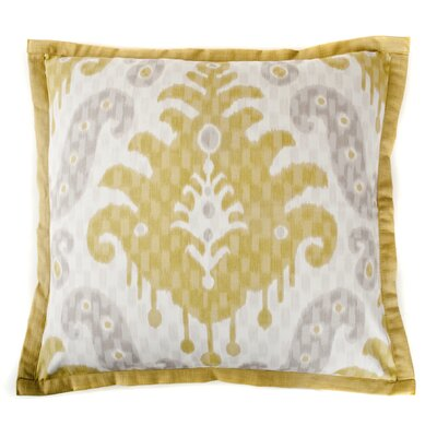 Spirit Cotton Throw Pillow Color: Yellow