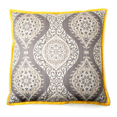 Lunar Cotton Throw Pillow Color: Gray