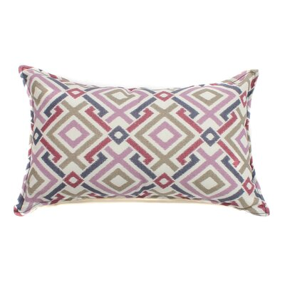 Chopped Outdoor Lumbar Pillow Fabric: Purple, Size: 12 H x 20 W