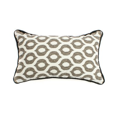 Eye Outdoor Lumbar Pillow Size: 20 H x 20 W, Fabric: Gray