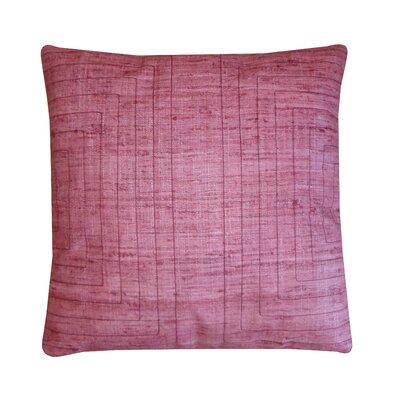 Streams Silk Throw Pillow Color: Blush