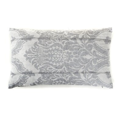 Ghost Cotton Lumbar Pillow Color: Gray