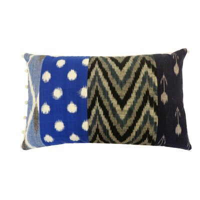 Bright and Fresh Patchwork Cotton Lumbar Pillow